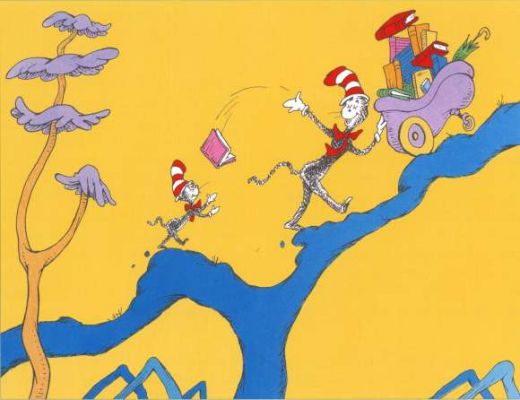 "I'm doing another Dr Seuss post (""But you've already done,"" exclaimed Dad)"